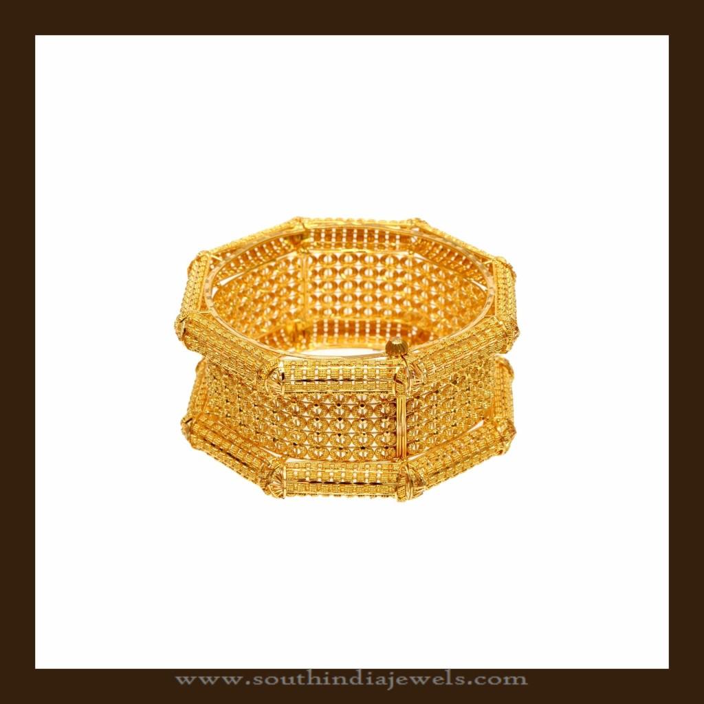 68 Grams Gold Kada Bangle from VBJ