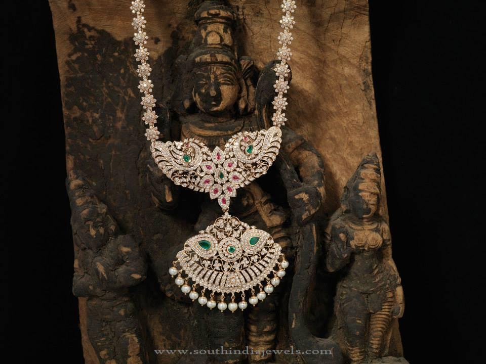 Traditional Diamond Haram Designs