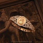 Diamond Lakshmi Bangle From Navrathan Jewellers