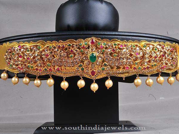 Fancy Gold Vadanam Designs