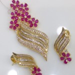 Gold Plated AD Pendant Sets