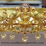 Gold Plated Lakshmi Hip Belt