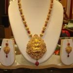 22K Gold Coral Necklace Design