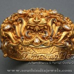 Gold Heavy Kada Design