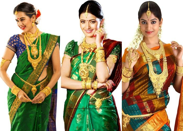 Gold Jewellery Designs from Lalitha Jewellery