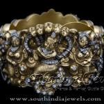 Gold Kada for Ladies from Tibarumal Jewels