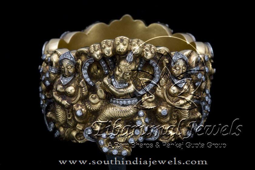 Gold Kada for Ladies From Tibarumal