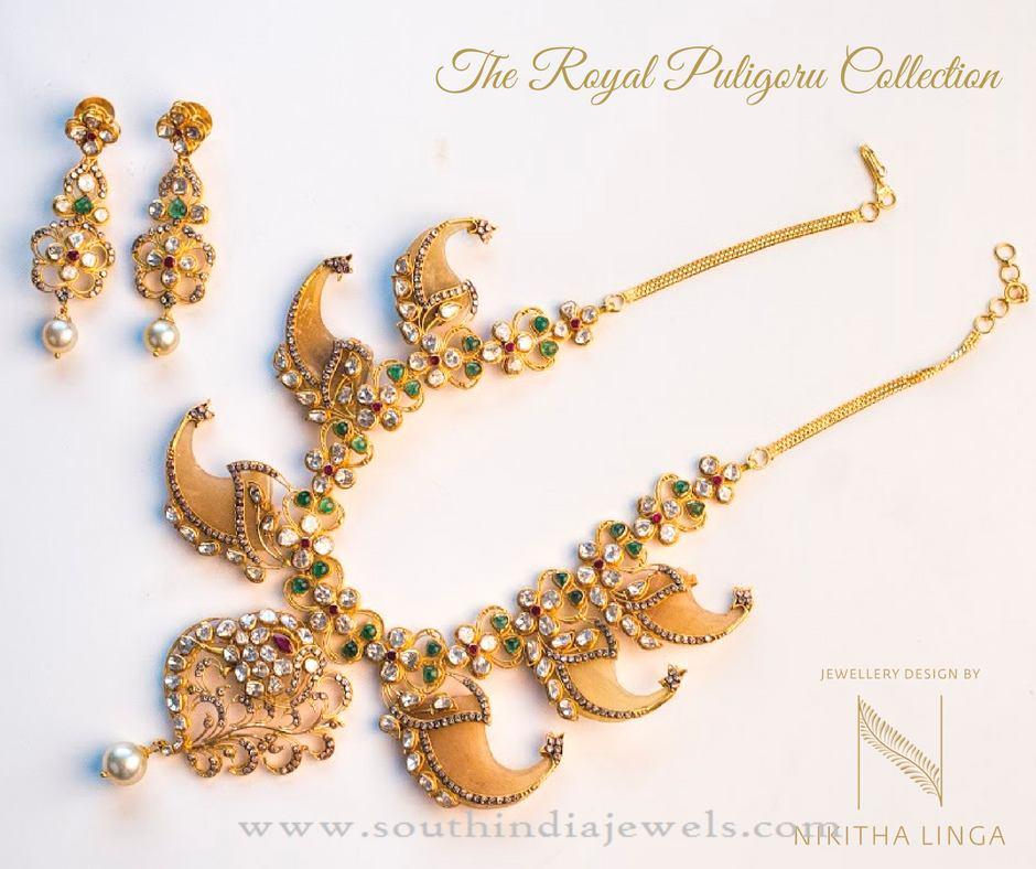 Gold Puligore Necklace