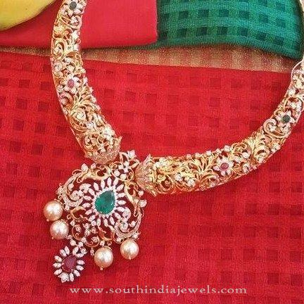 Indian Diamond Jewellery New Designs