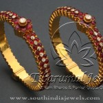 Gold Antique Jewellery Bangle