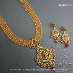 Gold Jewellery Necklace Set from Tibarumal