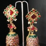 Latest Jhumka Design from Mor Jewellers
