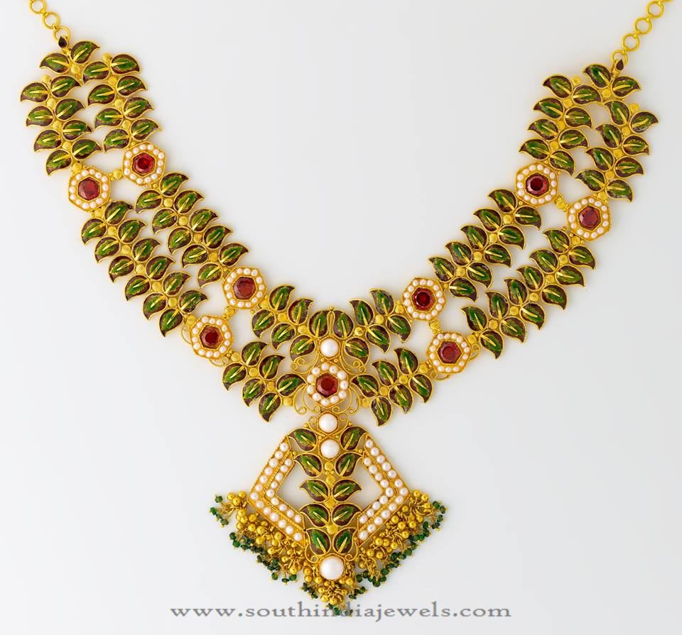 Gold Designer Necklace from Josco Jewellers