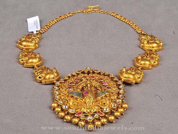 Latest Model Temple Necklace 2016