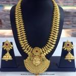 One Gram Gold Bridal Haram Design