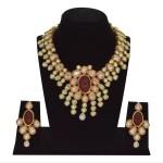One Gram Gold Kundan Necklace Design