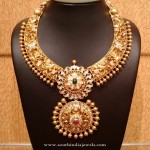 Latest Model Gold Bridal Necklace
