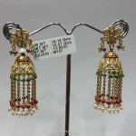 18 Gram Gold Jhumka Design