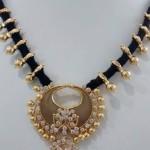 Black Gold Dori Necklace