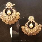 22K Gold Coin Earrings
