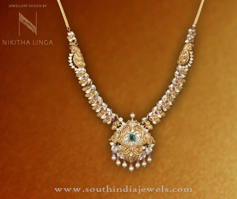 Gold Necklace New Designs