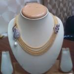 Gold Multilayer Designer Necklace