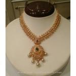 Latest Model 22K Gold Short Necklace