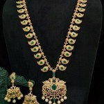 Imitation Mango Mala Haram Set