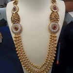 Latest Multilayer Gold Antique Haram