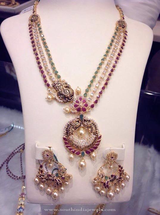 Multilayer Gold Antique Necklace