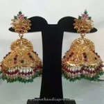 New Gold Jhumka Design