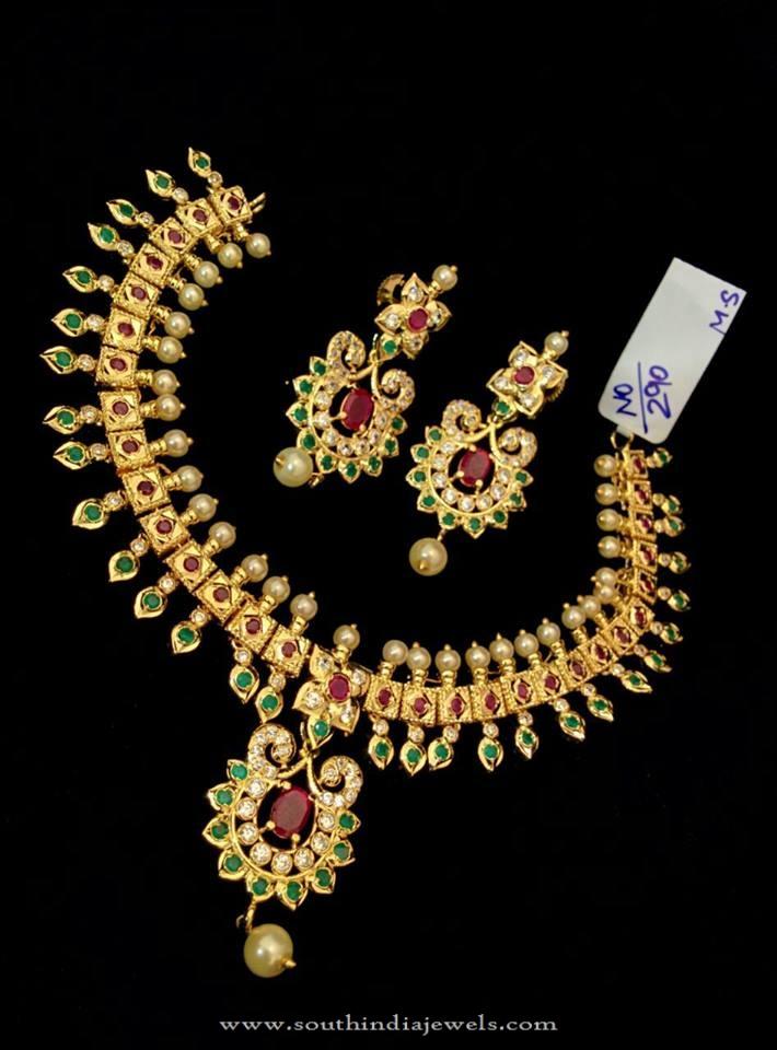 One Gram Gold Jewellery Designs