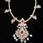 Short Diamond Necklace Design