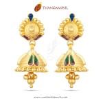 Beautiful Gold Jhumka Design