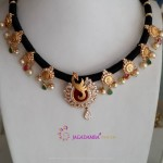 Beautiful Black Dori Necklace Designs