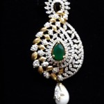 Designer Gold Diamond Pendant