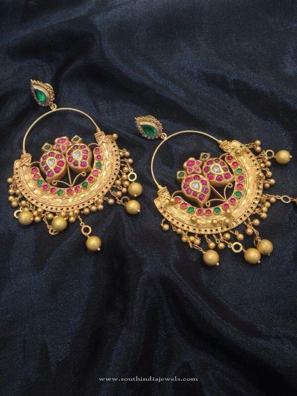 Gold Antique Earrings 2016