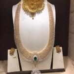 Gold CZ Stone Bridal Jewellery