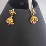 Latest Gold Baby Jhumka Earrings