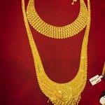 Gold Bridal Jewellery – Choker & Long Necklace