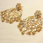 Imitation Kundan Chandbali Design