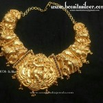 Gold Plated Nagas Krishna Choker