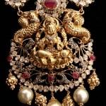 Temple Lakshmi Pendant Design