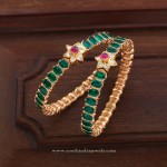Brighten Up Your Saree Look With this Gorgeous Bangles