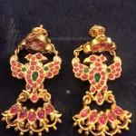 Antique Gold Earrings Design