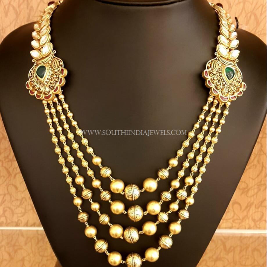 Designer Step Chain Necklace