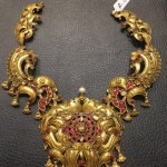 Gold Antique Necklace From NSK