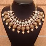 Gold Designer Kundan Necklace