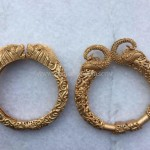 Gold Statement Kada Bangles