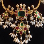 Short Ruby Choker Necklace